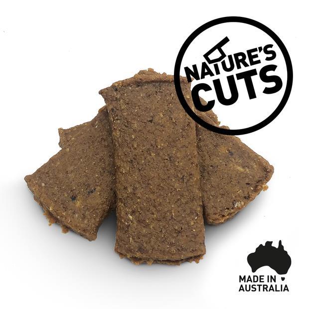Natures Cuts Salmon Chews 300g Pet: Dog Category: Dog Supplies  Size: 0.3kg  Rich Description: Natures...
