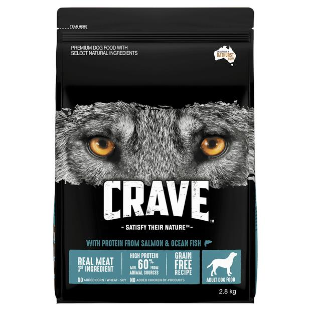 Crave Dry Dog Food Salmon And Ocean Fish Bag 2.8kg Pet: Dog Category: Dog Supplies  Size: 1.5kg  Rich...