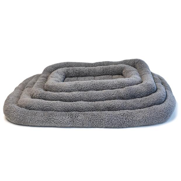 Paws For Life Bolster Mat Grey Extra Large Pet: Dog Category: Dog Supplies  Size: 0.7kg  Rich...