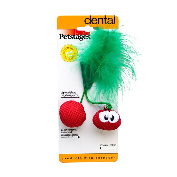 Petstages Dental Cherries Each Pet: Cat Category: Cat Supplies  Size: 0kg Colour: Multi  Rich...