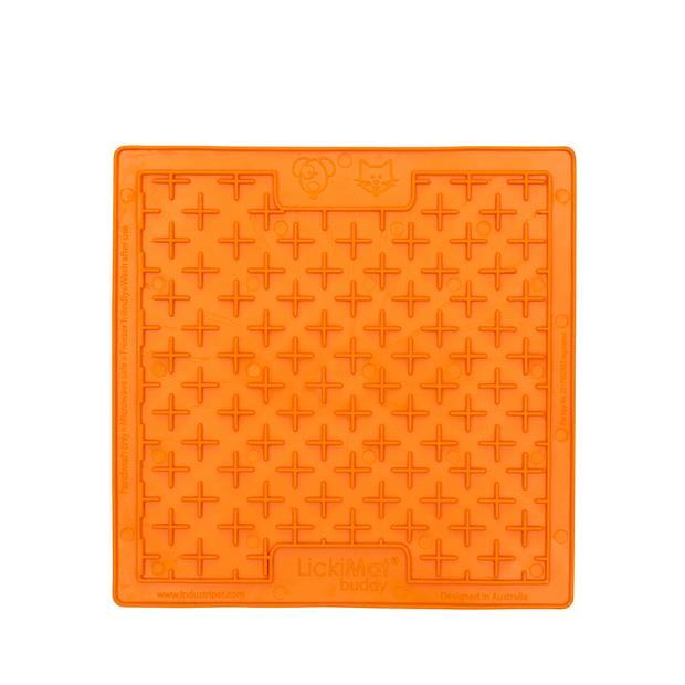 Lickimat Buddy Orange Each Pet: Dog Category: Dog Supplies  Size: 0.3kg Colour: Orange Material:...