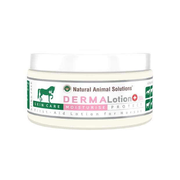 Natural Animal Solutions Derma Lotion 200gm Pet: Horse Size: 0.3kg  Rich Description: Operating since...