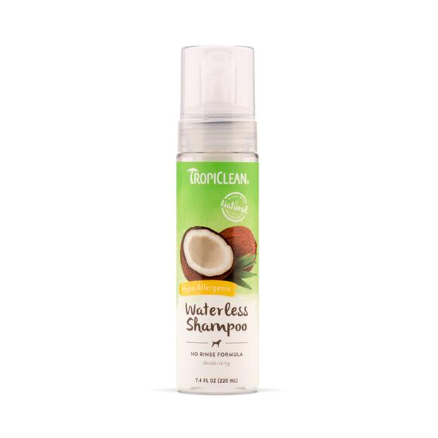 Tropiclean Waterless Shampoo Hypo Allergenic 220ml Pet: Dog Category: Dog Supplies  Size: 0.3kg  Rich...