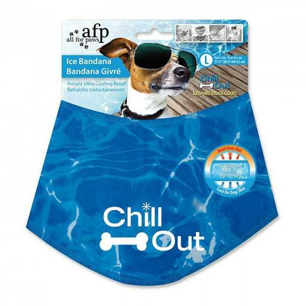 Afp Chill Out Bandana Large Pet: Dog Category: Dog Supplies  Size: 0.1kg Colour: Blue  Rich...