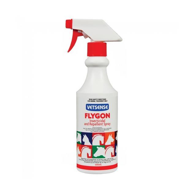 Vetsense Flygon 500ml Pet: Horse Size: 0.5kg  Rich Description: Vetsense Flygon is a low irritant oil...