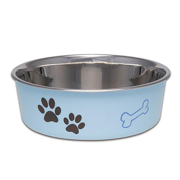 Loving Pets Bella Bowl Murano Blue Medium Pet: Dog Category: Dog Supplies  Size: 2.3kg Colour: Blue...