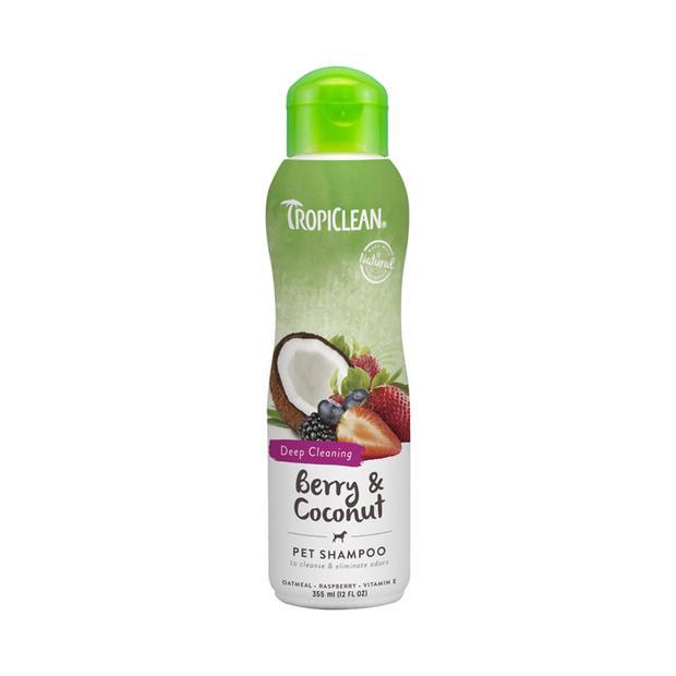 Tropiclean Shampoo Berry Coconut 355ml Pet: Dog Category: Dog Supplies  Size: 0.3kg  Rich Description:...