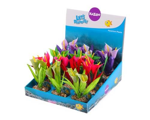 KAZOO SILK PLANTS - FUNNEL LEAF ASSORTEDThese gorgeous silk plant ornaments from Kazoo are a great way...