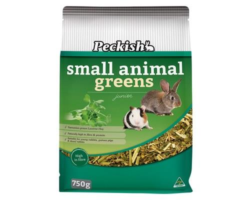 PECKISH JUNIOR/ DWARF GREENS 750GSupport young growing rabbits, dwarf rabbits and guinea pigs to make...
