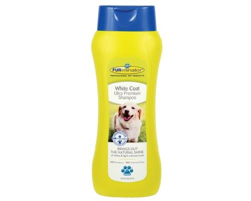 FURMINATOR WHITE COAT ULTRA PREMIUM SHAMPOO 473MLMade specifically for dogs with light or white colour...