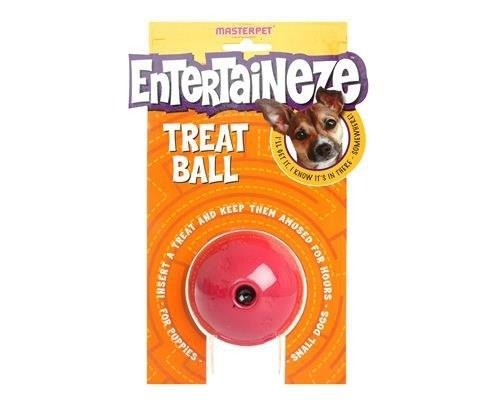 Entertaineze Dog Treat Ball, SmallSize: Small, 7cmRecommended for: Small dogs under 15kg and...