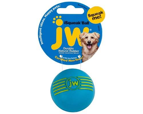 JW ISQUEAK BALL SMALLThe JW ISqueak Ball does just that - Squeak.Made from a tough natural...