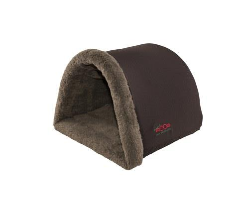 Snooza Hidey Hole, Mock Lambswool, SmallSize:40cm L x 42cm W x 30cm HThis cat hidey hole is...