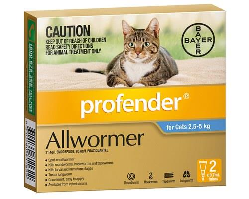 Easy worming starts here! Profender is the world's first spot-on intestinal wormer for...