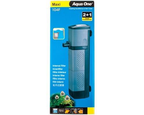 AQUA ONE 104F MAXI INT FILTER 2000 L/HR*  The Maxi range of internal Aquarium filters offer an...