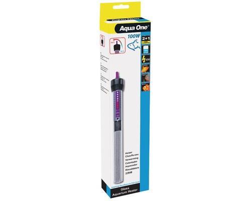 AQUA ONE | GLASS HEATER | 100W | 24.5cm   Keeping the water temperature constant in your aquarium is...