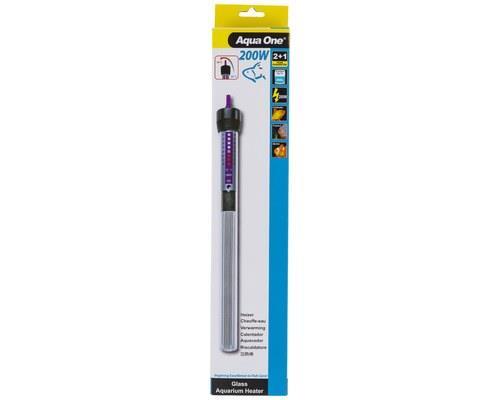 AQUA ONE | GLASS HEATER | 200W | 30cm   Keeping the water temperature constant in your aquarium is...