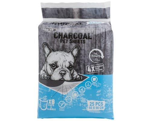 Absorb Plus Charcoal Bedsheets Large - 25 PackIt's without a doubt that when pets have accidents, the...