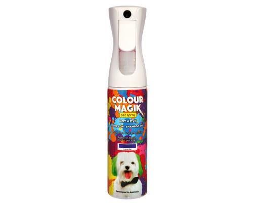 COLOUR MAGIK LAVENDER SPRAY 300MLThe safe way to colour your pet! Colour Magik is aerosol free, so it's...