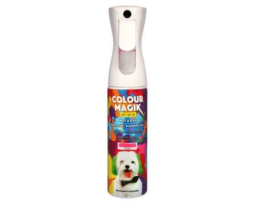 COLOUR MAGIK HOT PINK SRAY 300MLThe safe way to colour your pet! Colour Magik is aerosol free, so it's...