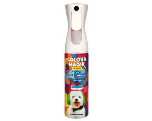 COLOUR MAGIK AQUA BLUE SPRAY 300MLThe safe way to colour your pet! Colour Magik is aerosol free, so...