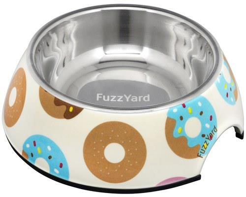 FUZZYARD GO NUTS DONUTS DOG BOWL SMALLIt's nuts!Let's face it - who doesn't like a donut? FuzzYard has...