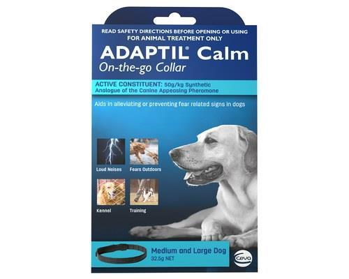 Adaptil Dog Collar for Anxiety, Medium / Large DogSize:Medium / large dog, fits neck size up to...