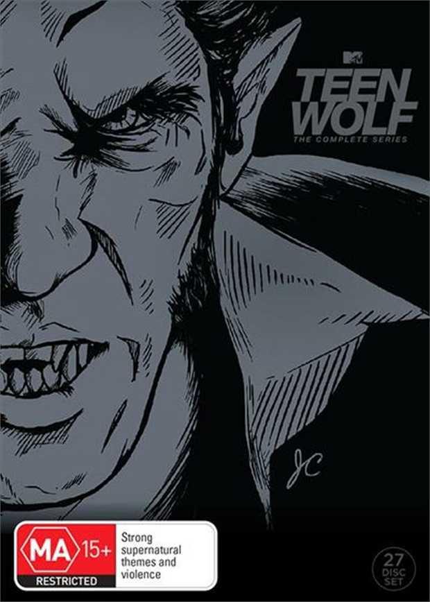 Teen Wolf Season1-6 Boxset on DVD        Can't go back  Storm...
