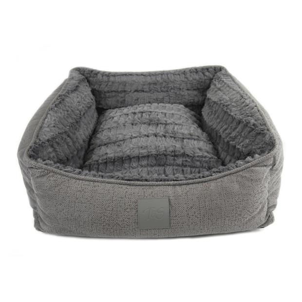 Ts Isleep Plush Bed Grey Large Pet: Dog Category: Dog Supplies  Size: 3.8kg Colour: Grey  Rich...