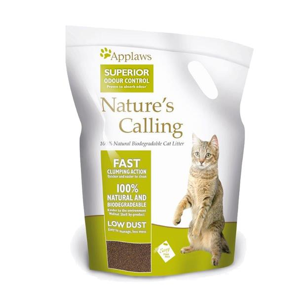 Applaws Cat Litter Natures Calling 2.7 Kg Pet: Cat Category: Cat Supplies  Size: 3.2kg Material: Plant...