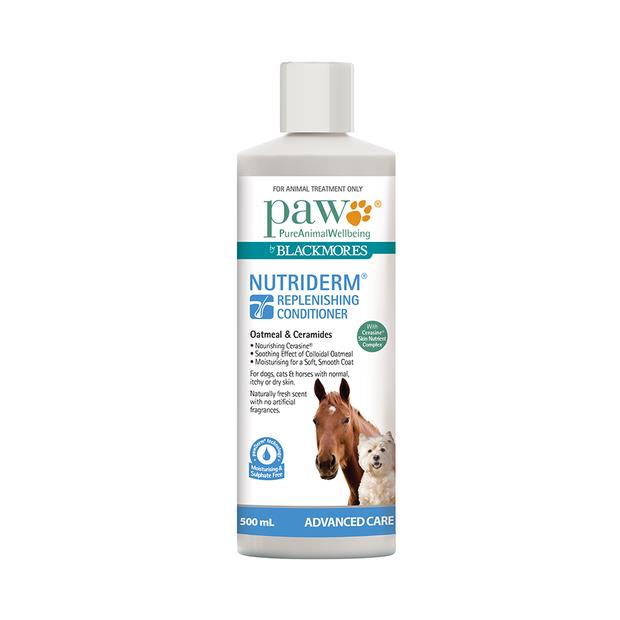 Paw Nutriderm Replenishing Conditioner 200ml Pet: Dog Category: Dog Supplies  Size: 0.2kg  Rich...
