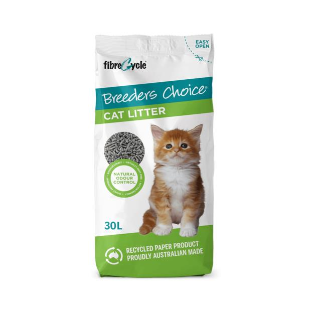 Breeders Choice 2 X 30L Pet: Cat Category: Cat Supplies  Size: 23kg Material: Paper  Rich Description:...
