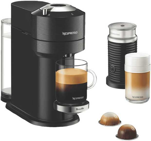 Coffee brewed exactly to your liking is effortless with the all-new Nespresso Vertuo Next Premium...