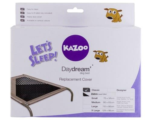 KAZOO DAYDREAM REPLACEMENT COVER BLACK & WHITE MEDIUMThe Kazoo Daydream comfy cover is a great way...