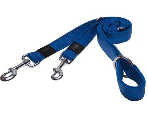 Rogz Multi-Purpose Dog Lead, Reflective Blue,Fanbelt /LargeThis multi-purpose dog lead has...