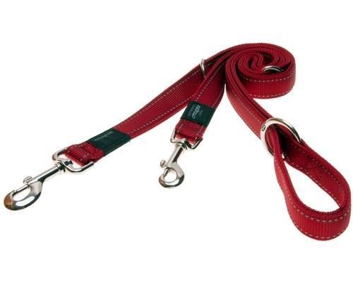 Rogz Multi-Purpose Dog Lead, Reflective Red,Fanbelt /LargeThe multi-purpose dog lead is...