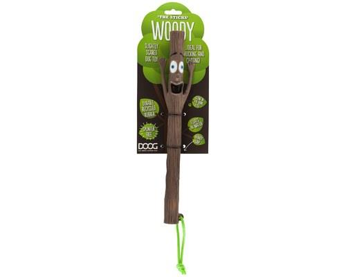 DOOG STICK MR WOODY 30CM  A family of fun fetch toys for dogs!  MR WOODY may look slighty scared, but...
