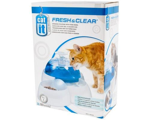 CATIT CAT DRINKING/FEEDING STATIONThis multi-feeder is perfect for serving both wet and dry food. Made...