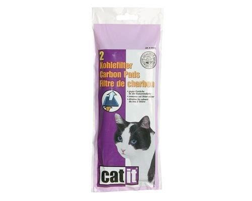 CATIT CARBON ODOUR TRAP CARTRIDGES FOR HOODED CAT PANS 2 PACKKeep odors at bay with the Catit Carbon...