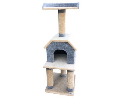 BONO FIDO CAT SCRATCHER TOWNHOUSEThe Bono Fido Townhouse Cat Scratcher is the answer for families...