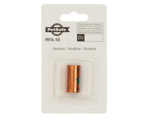 PetSafe 6 Volt Alkaline Battery, RFA-18-11Specially designed for use in PetSafe products, this battery...
