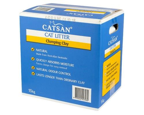 Catsan Ultra Cat Litter Clumping Clay, 15kgEvery cat's gotta go and this clumping cat litter from...