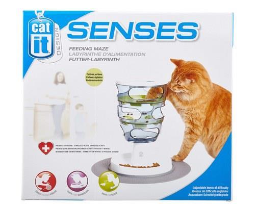 Catit Senses Food Maze, Cat Treat DispenserSize:24cm L x 24cm W x 35.5cm HThe Catit Senses Food...