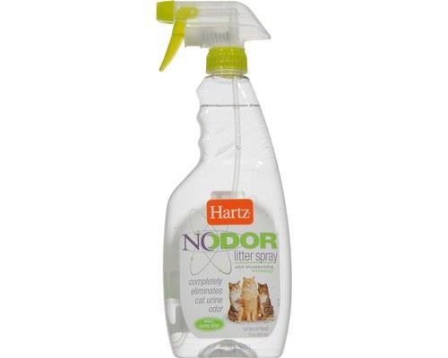 Hartz Nodor Cat Litter Box Cleaner Spray, Unscented, 503mlThis Litter Spray has been developed by Hartz...
