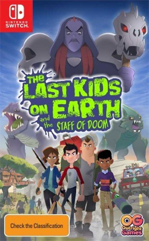 The Last Kids on Earth and the Staff of DoomTime to gear up as Jack, Quint, June and Dirk in a search...
