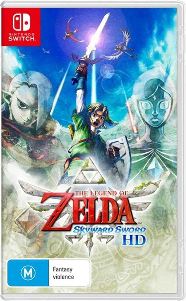 The Legend of Zelda Skyward Sword HDThe Legend of Zelda: Skyward Sword game soars onto Nintendo...
