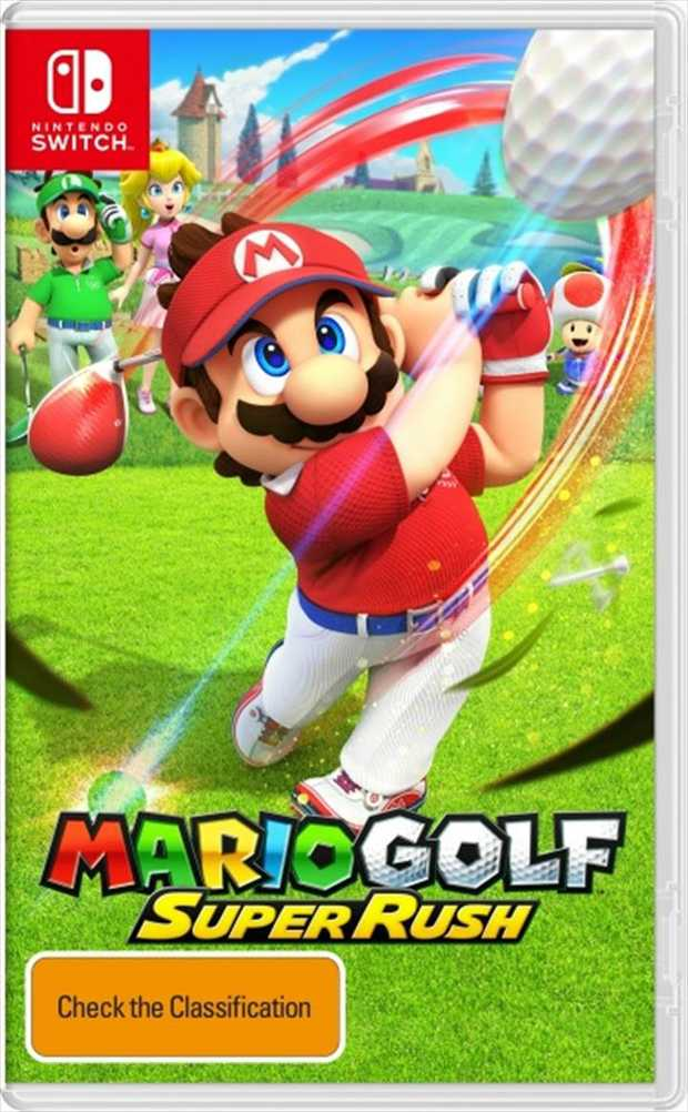 Mario Golf Super RushTee off with family and friends in the biggest Mario Golf game yet.Hit the green...
