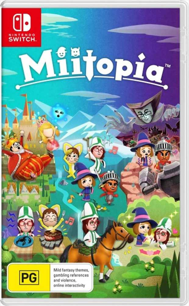 MiitopiaStar in your own adventure alongside your favourite people!Cast your friends, family or anyone...