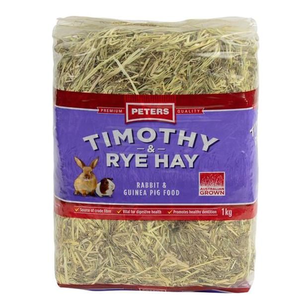 Peters Timothy And Rye Hay 1kg Pet: Small Pet Category: Small Animal Supplies  Size: 1kg  Rich...