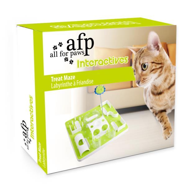 Afp Cat Treat Maze Each Pet: Cat Category: Cat Supplies  Size: 1kg  Rich Description: The folks over at...